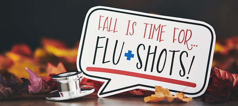 Flu Shots Graphic