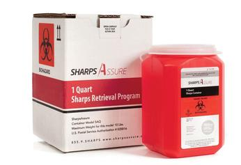 Sharps Retrieval Containers